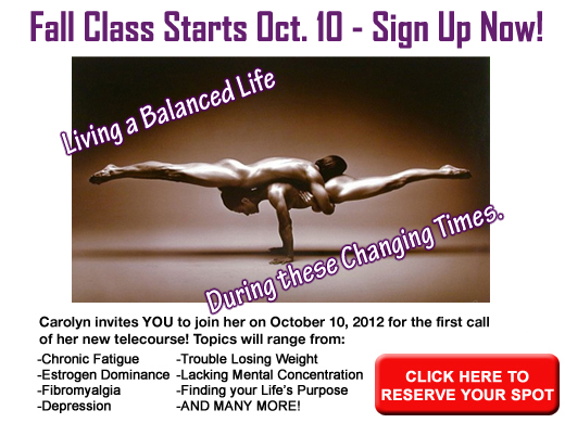 Fall Class Starts October 10th - Sign Up Today!